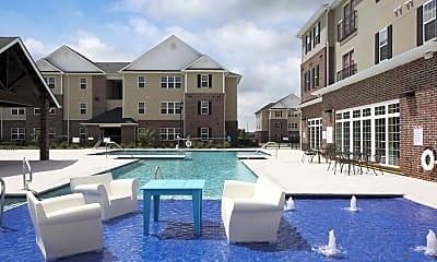 Pool, Varsity House, 1
