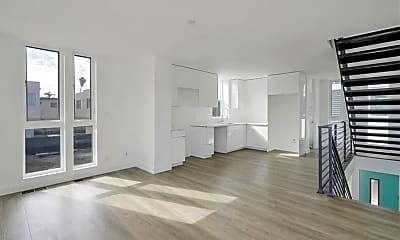 Living Room, 6083 1/2 Saturn St, 1