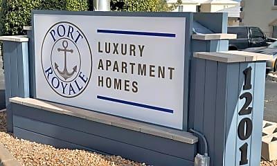 Community Signage, Port Royale, 2