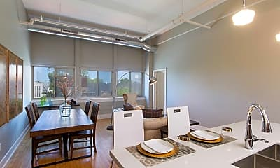 Dining Room, One Delaware Avenue, 1