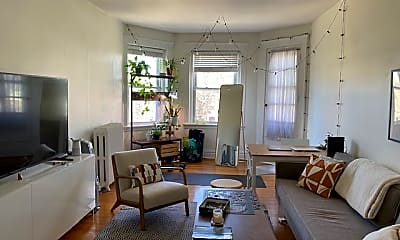 Living Room, 163 Coolidge St, 0