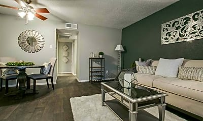 Living Room, The Pointe on Calloway, 1