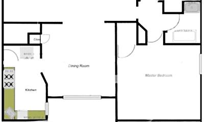 Kitchen, 6401 Alamo Ave, 2