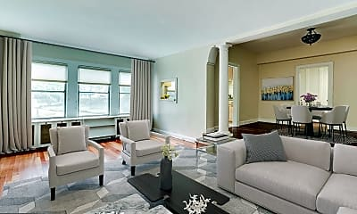 Living Room, 4000 Cathedral Ave NW 124B, 0