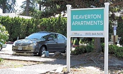Community Signage, 5800 SW Erickson Ave, 1