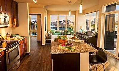 Kitchen, The Waterfront Apartments, 1