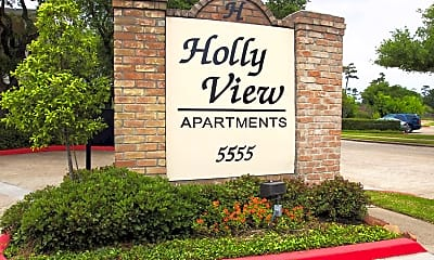 Community Signage, Hollyview, 2