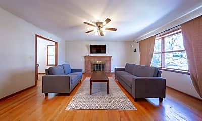 Living Room, 9427 Connell, 0