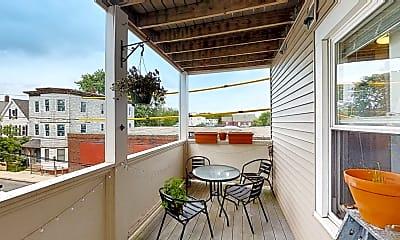 Patio / Deck, 391 Washington St., #2, 2
