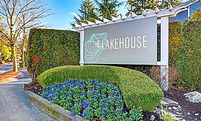 Community Signage, The Lakehouse, 2
