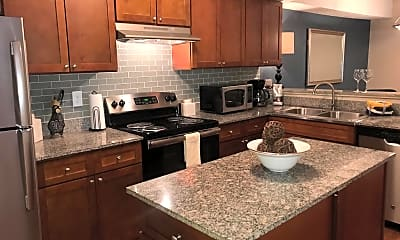 Kitchen, The Arts at Park Place, 1