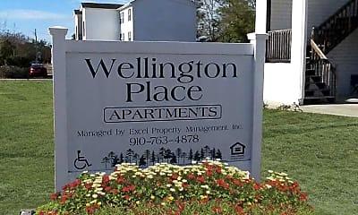 Community Signage, Wellington Place, 1