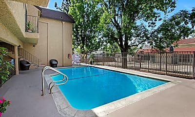 Pool, Superior Place, 1