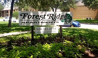 Forest Ridge, 1