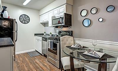 Kitchen, Ridgewood Apartments, 1