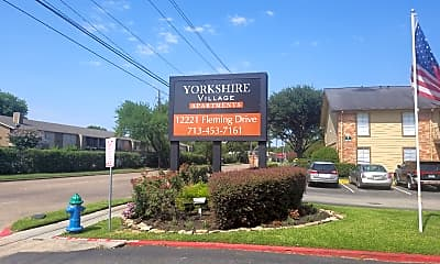 Yorkshire Village Apartments, 1