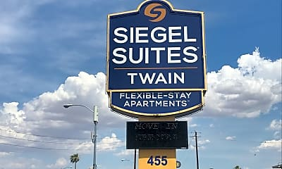 Siegel Suites Twain, 1