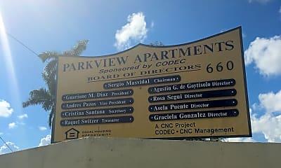 Park View Apartments, 1