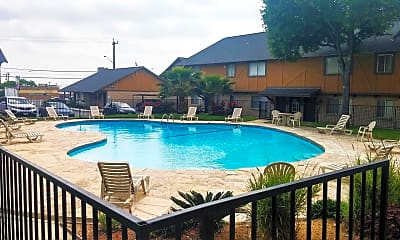 Pool, Cottages @ Terrell Hills, 0