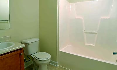 Bathroom, Church Street Apartments, 2