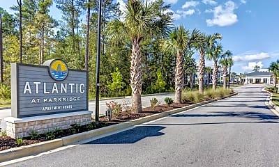 Community Signage, Atlantic at Parkridge, 2