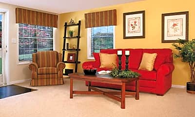 Living Room, Spring Hill Apartments and Townhomes, 0
