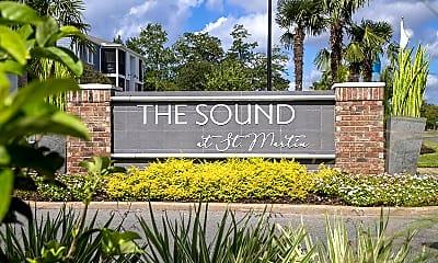 Community Signage, The Sound at St. Martin, 2
