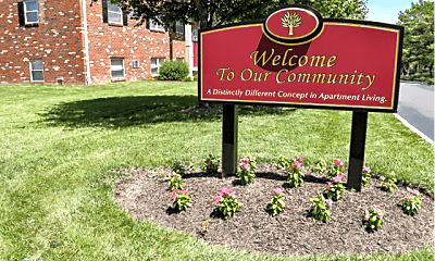 Community Signage, Newport Village Apartments, 1