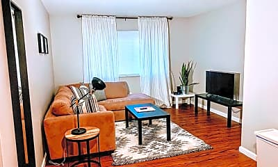 Living Room, 2140 Hampton Ave, 0