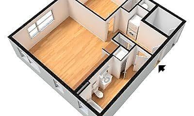 Living Room, 3425 SE Gladstone St, 2