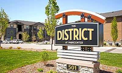 Community Signage, The District at Parkcenter, 2