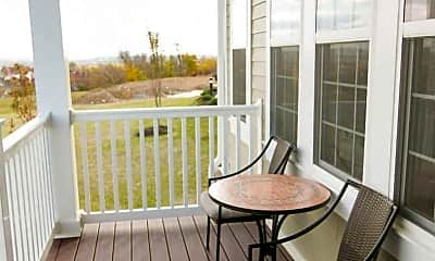 Patio / Deck, Vista View of Whittier, 1