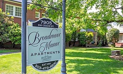 Community Signage, 8000 SW Brentwood St - 33, 0