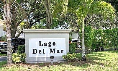 Community Signage, 7890 Lago Del Mar Dr, 0