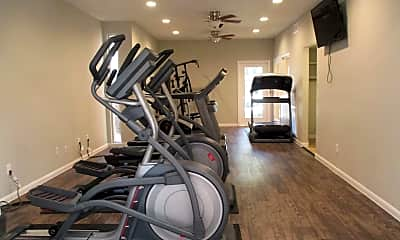 Fitness Weight Room, Bay House, 2