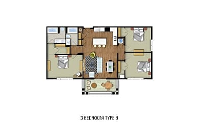 Bathroom, 1107 Cottontown Manor Dr, 2
