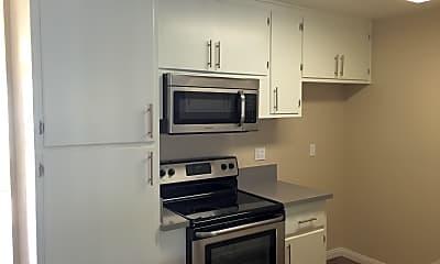 Kitchen, Washington Place, 1