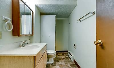 Bathroom, Kenwood Apartments, 2