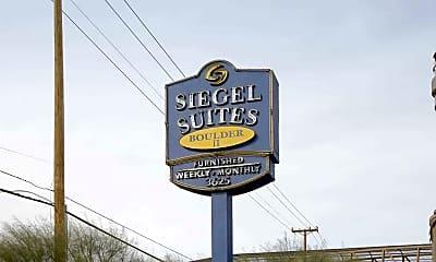 Community Signage, Siegel Suites Boulder II, 2