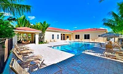 Pool, 4776 Via Bari Lake Worth, 2
