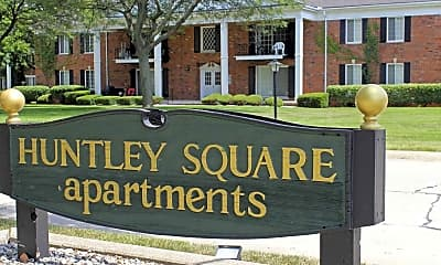 Community Signage, Huntley Square Apartments & Townhomes, 2