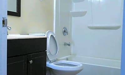 Bathroom, 1707 School St, 2