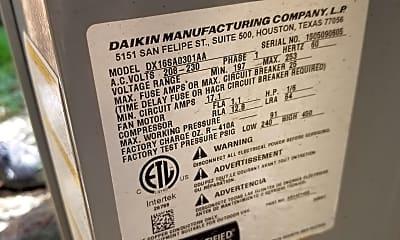 Recent 2.5 ton 16 seer high quality daikin air conditioner, 10822b lynbrook dr., 2