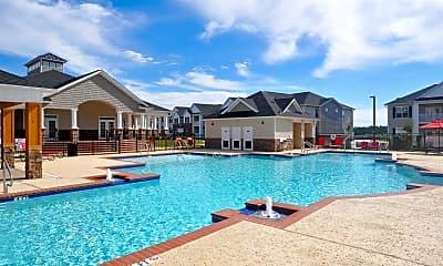 Pool, Alcove Garner Apartments, 0