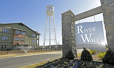 Community Signage, RiverWalk Apartments, 0