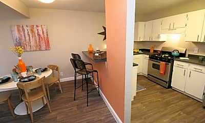 Kitchen, Academy Terrace Apartment Homes, 1