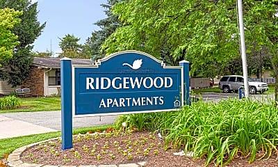 Community Signage, Ridgewood Court, 2
