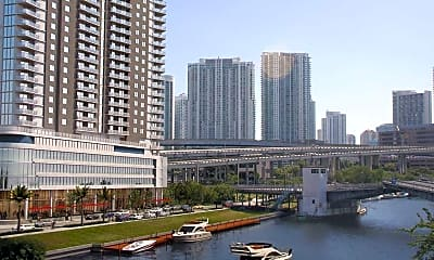 Building, Flagler on the River, 1