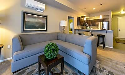 Living Room, Point Ruston - Copperline Apartments, 0