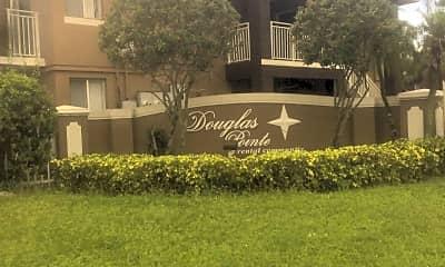 Douglas Point Apartments Gate, 1
